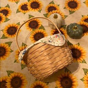 Longaberger handmade basket